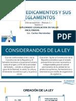 nueva presentacion ley de medicamentos -2016