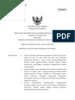 Permendagri 19 Tahun 2016