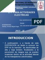Epp Para Actividades Electricas