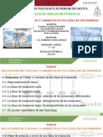 Capitulo 6.-Relación de Voltaje y Corriente en Una Línea de Transmisión_Caamal, Ciau, Escalante,Pech