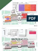 Nuevas salas del Museo del Prado. Plano Abril 2010