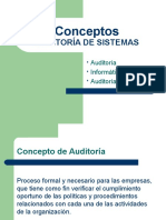 2- Conceptos de Auditoria