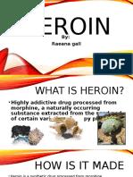 heroin power point