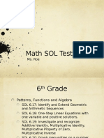 Dine2learn Math SOL Testing Tips Roe 42716