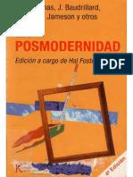 Foster, Hal (Ed) - La Posmodernidad.pdf