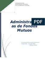 Administradoras de Fondos Mutuos