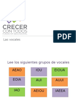Ppt 1 Las Vocales
