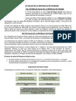 Sistema de Salud en La Republica de Panama