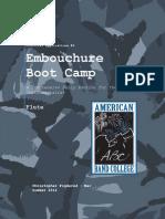 Embouchure Boot Camp - Flute