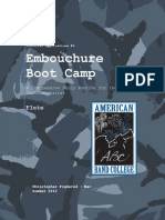 Embouchure Boot Camp - Flute