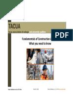 Construction Fundamentals