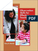 Observation Skills for Effective Teaching - Borich.pdf