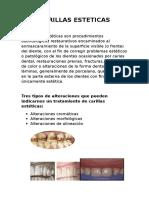 Carillas Esteticas Caso Clinico