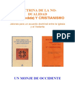 Un Monje de Occidente-doctrina de No-dualidad y Cristianismo