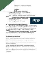 disciplinart unit - regions