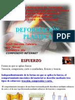 DEFORMACIÓN PLASTICA DE ELEMENTOS