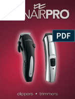 ConairPRO Clippers Trimmers Catalog 2011(1)