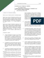 Animais - Legislacao Europeia - 2007/03 - Reg nº 318 - QUALI.PT