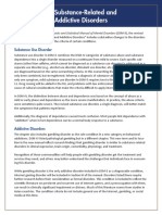 APA DSM 5 Substance Use Disorder