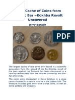 Large Cache of Coins From Historic Bar- Kokbha Revolt Uncovered