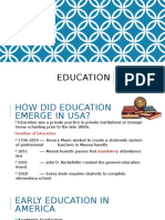 project 2 - education
