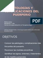 Patologías y Complicaciones Del Puerperio Meli