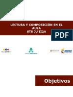 Presentación Texto Lectura y Composición en Español