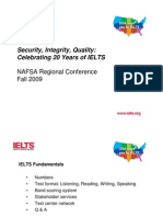 Security Integrity Quality IELTS