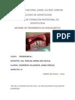 Informe de Periodontitis Periodoncia Imprimir Diana