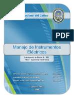 Informe Fisica II - UNAC - FIEE