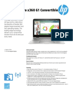 HP Spectre Prox 360G1