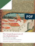 Sauptikaparvan of the Mahabharata.pdf
