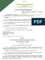 1 Decreto Nº 7661 EBSERH