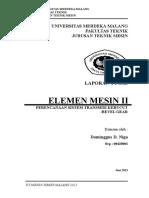 laporan elemen mesin 2