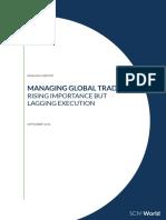 SCM World Managing Global Trade September 2013