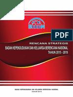 Renstra Bkkbn 2015-2019