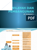 Wilayah Dan Pembangunan