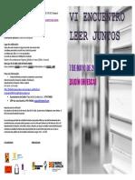 """VI Encuentro de """"Leer Juntos"""" (Zaidín, 7-5-2016)"""