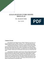 azalea seafood gumbo shoppe media plan