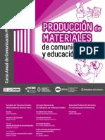 Producción de Materiales de Comunicacion y Educación Popular