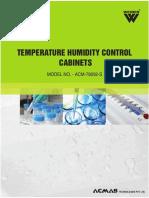 Temp Hum Control Cabinet