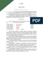 3. Model Decizie Inventar