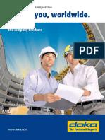 Near to You Worldwide - The Company Brochure