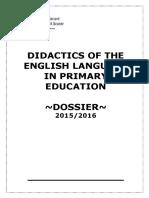 Dossier Primaria Curso 2015-2016