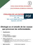 Etiologia de Las Enfermedades