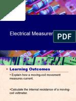 Electrical measurement pressntaion
