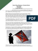 the confederate flag debate