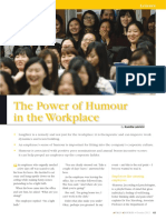 2012-10 the Power of Humour in the Workplace