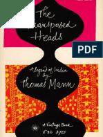 Mann, Thomas - Transposed Heads, The (Vintage, 1959)