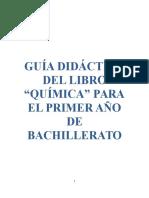 PLANIFICACIÓN Quimica 1 (Licitacion)